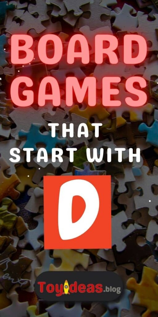 Board Games that start with d