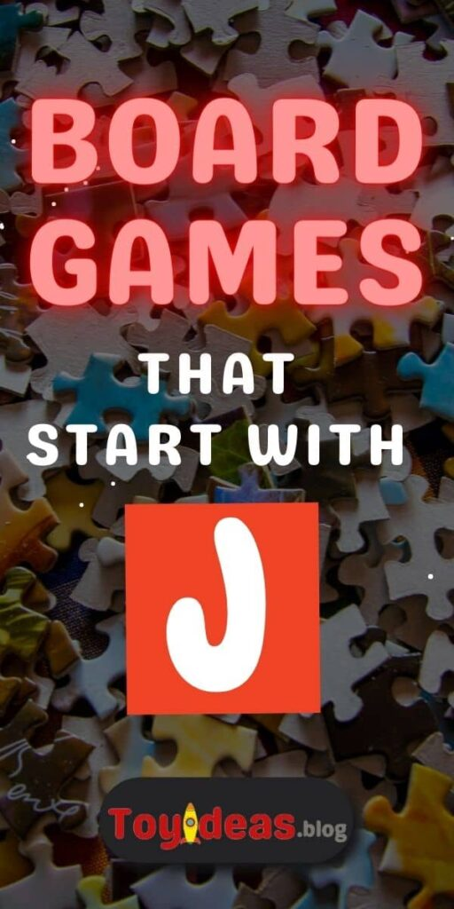 Board Games that start with j