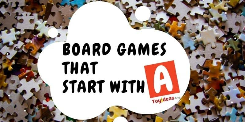 Board Games that start with letter a