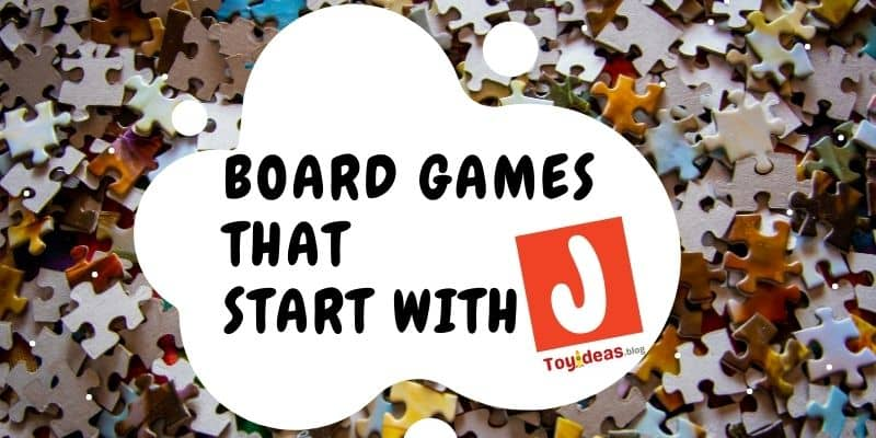 Board Games that start with letter j