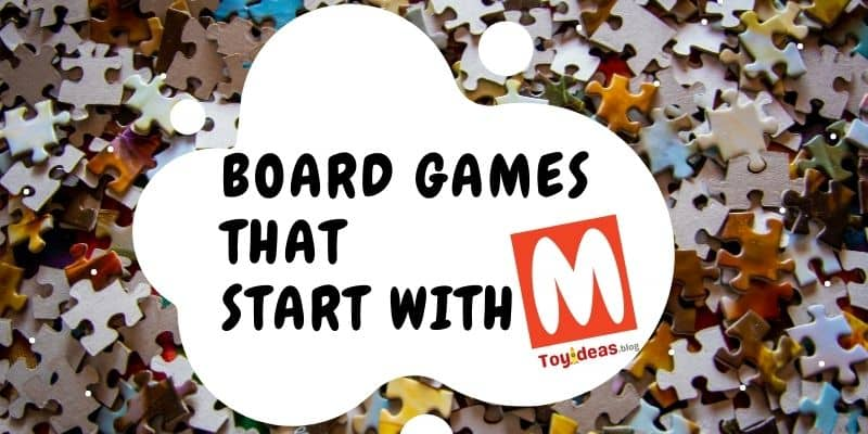Board Games that start with letter m