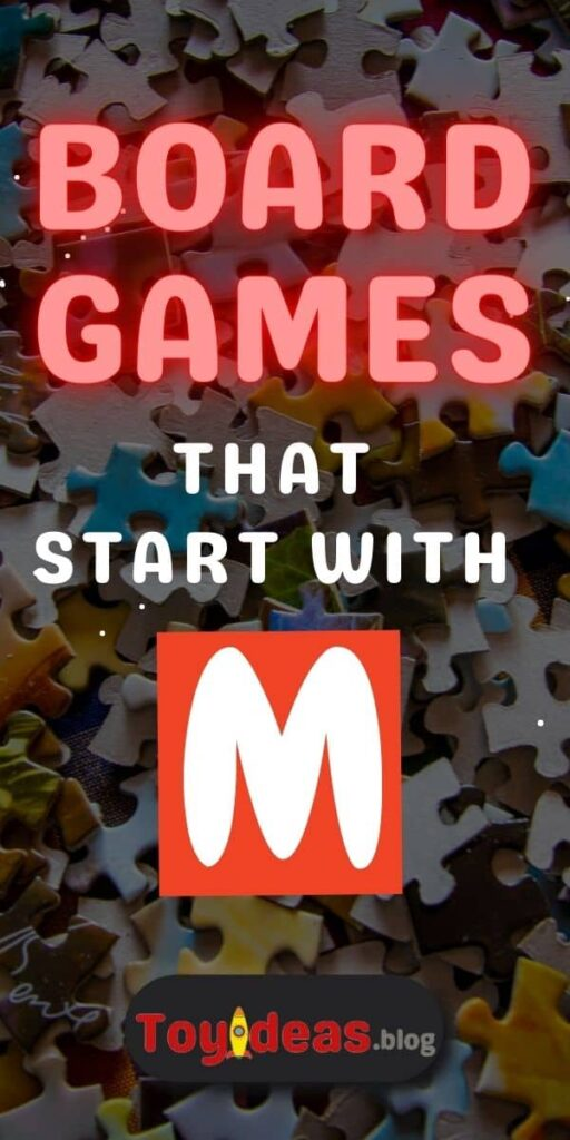 Board Games that start with m