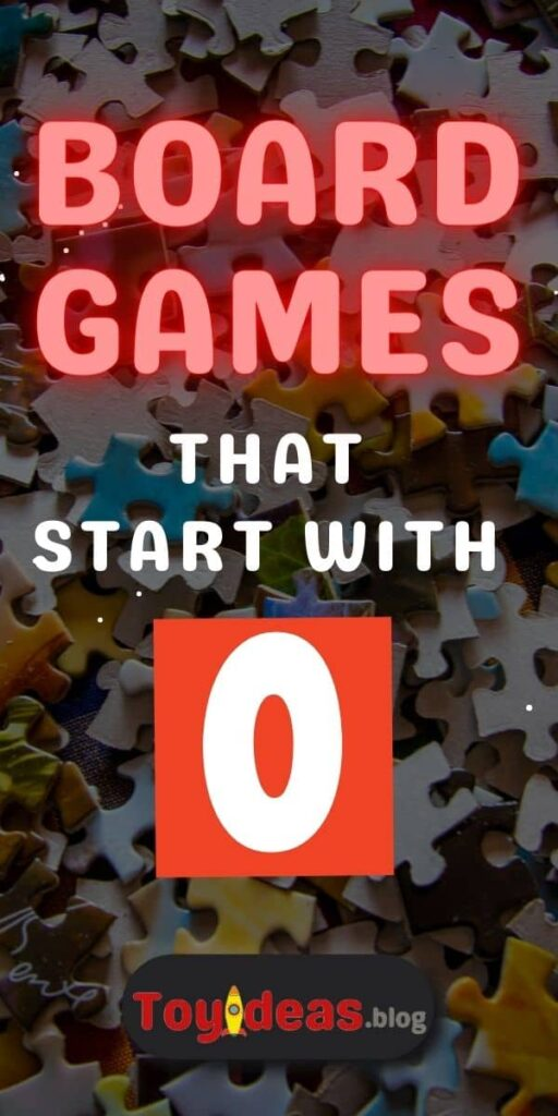 Board Games that start with o