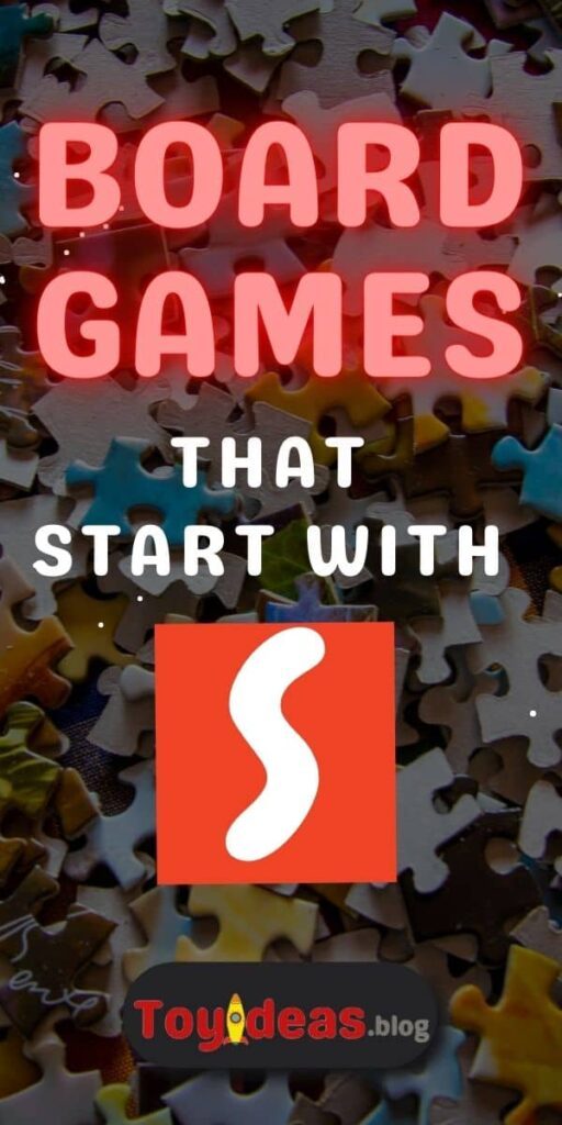 Board Games that start with s